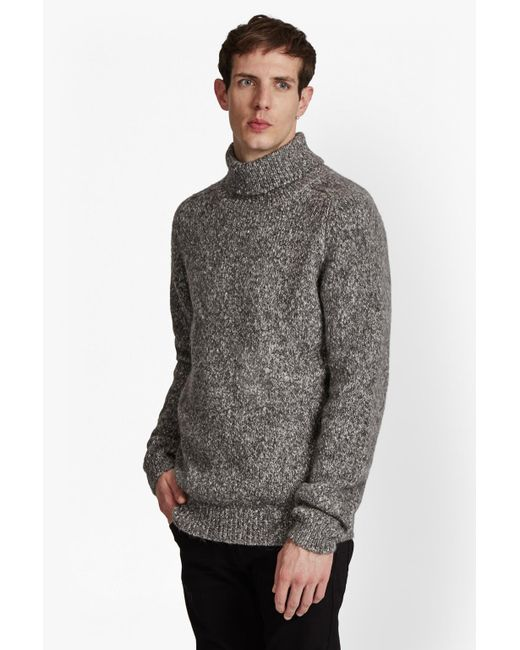 French Connection | Multicolor Buddy Knit Melange Roll Neck Jumper for Men | Lyst