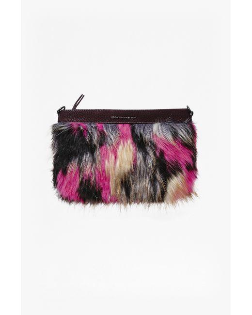French Connection | Multicolor Georgina Faux Fur Shoulder Bag | Lyst