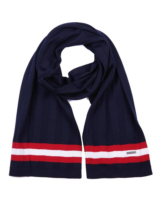 Bally - Blue Wool Scarf Ink Knits for Men - Lyst
