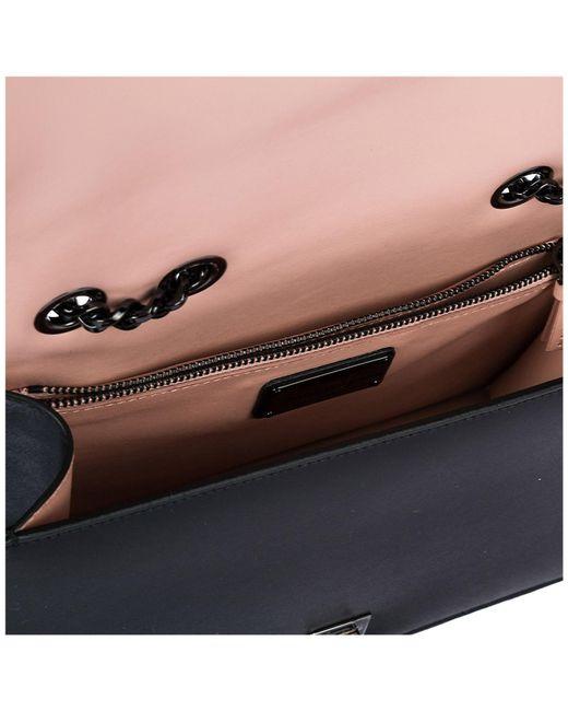 58dd9a56701e Lyst - Ferragamo Small Vara Rainbow Leather Shoulder Bag in Black ...