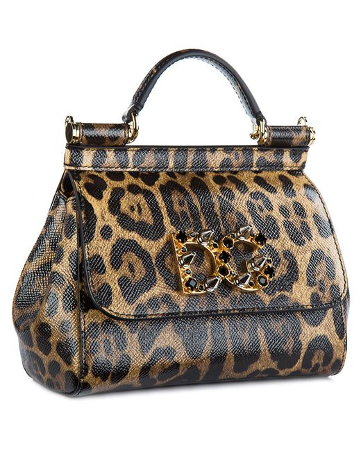 ... Lyst Dolce   Gabbana - Multicolor Leather Shoulder Bag Mini Sicily  Dauphine ... 43ba5880b27d3