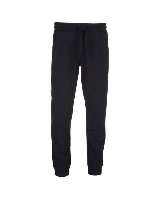 Emporio Armani - Black Sport Tracksuit Trousers for Men - Lyst
