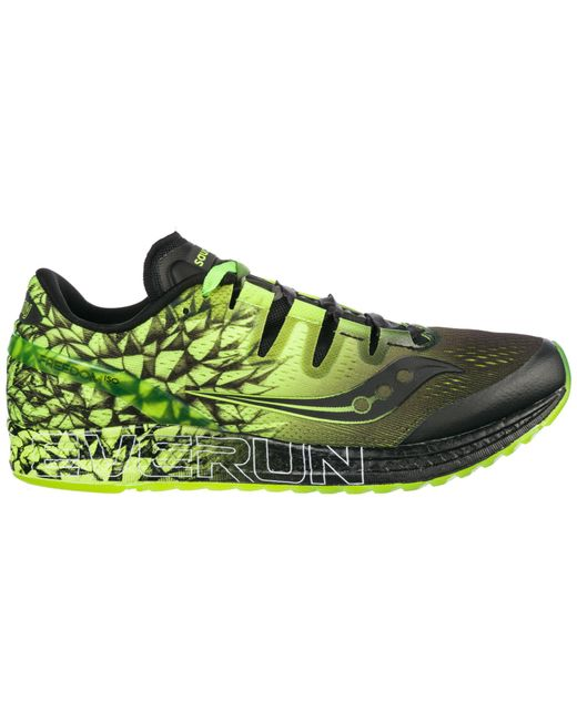bdbfe210e5d Saucony - Green Shoes Trainers Sneakers Freedom Iso for Men - Lyst ...