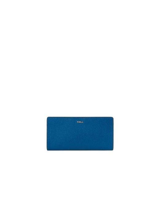 Babylon Bi-fold Bleu Paon Furla Xl e5iK7t