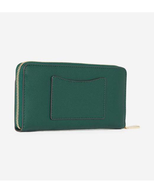 ... MICHAEL Michael Kors - Green Compagnon en cuir Continental - Lyst ... b6f27c6132d