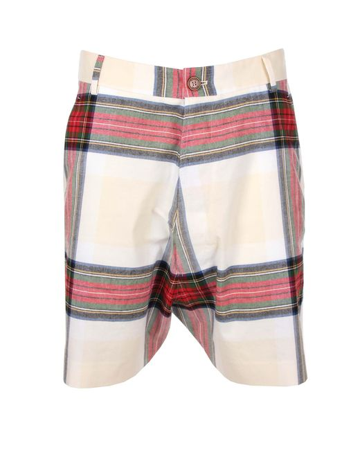 Vivienne Westwood - Multicolor Tartan Shorts Multicolour for Men - Lyst