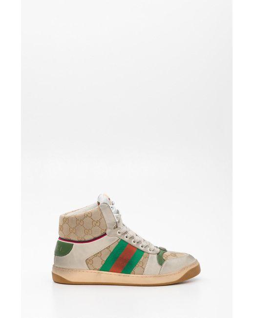 59eabf5e0 Gucci - Multicolor Men's Screener GG High-top Sneaker for Men - Lyst ...
