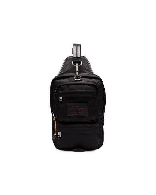 1852fc3af377 Givenchy - Black Sling Bag In Nylon for Men - Lyst ...