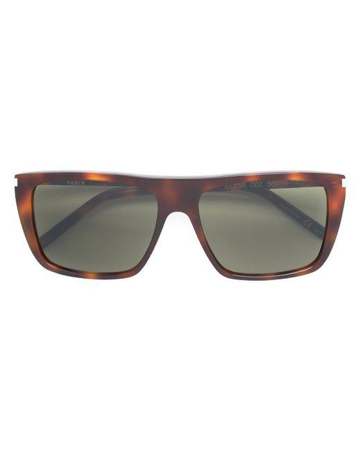 2755b8d6c11 Saint Laurent Sl 156 Sunglasses in Gray for Men - Lyst
