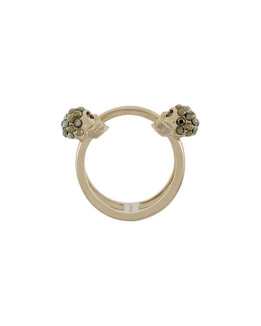 Alexander McQueen | Multicolor Skull Ring | Lyst