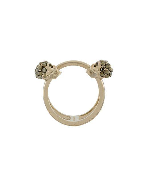 Alexander McQueen - Multicolor Skull Ring - Lyst
