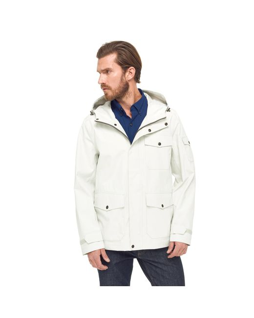 G.H. Bass & Co. - White Waterproof Explorer Mountain Rain Jacket for Men - Lyst