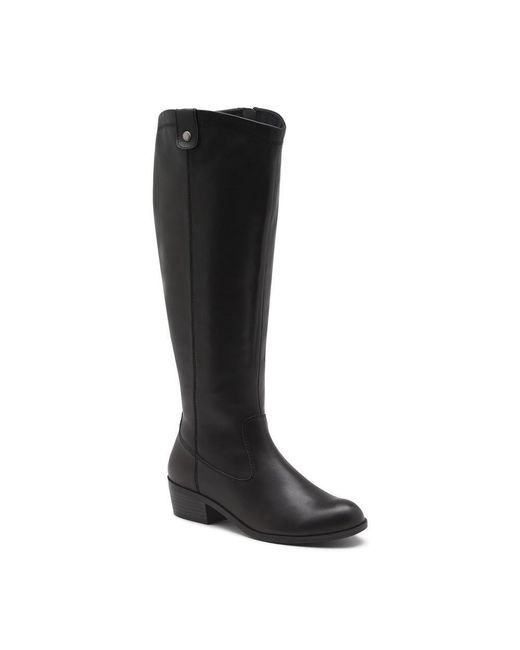 G.H. Bass & Co. | Black Sammy Leather Boot | Lyst