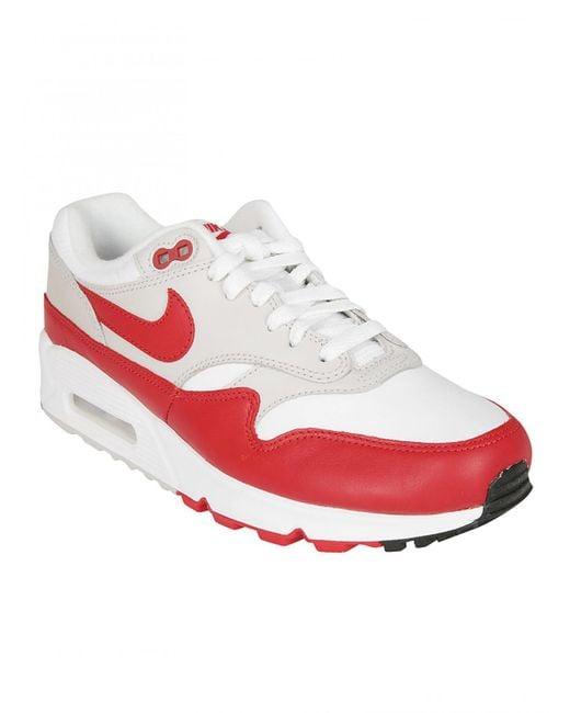 Lyst Nike NIKE SNEAKER AIR AIR SNEAKER MAX BIANCA ROSSA 7e98b6
