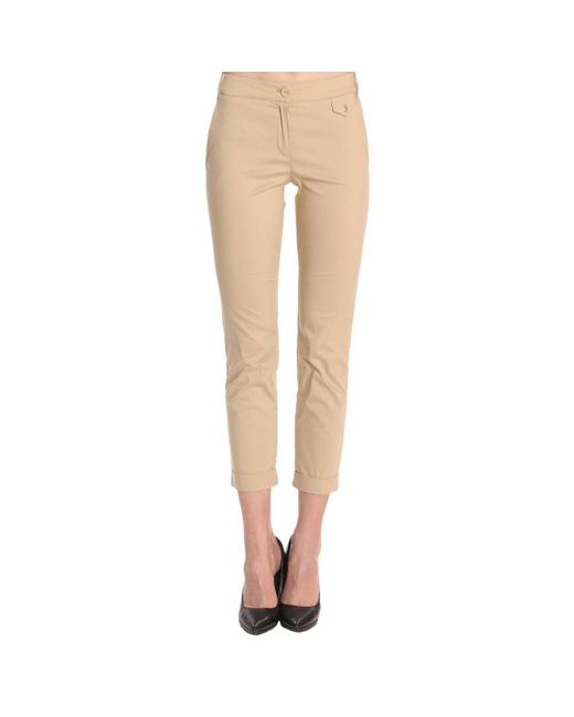 Patrizia Pepe - Natural Pants Women - Lyst