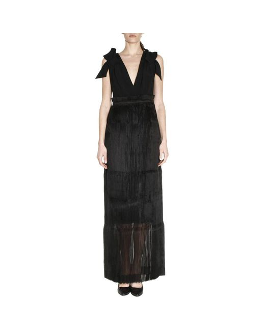 Capucci - Black Dress Women - Lyst
