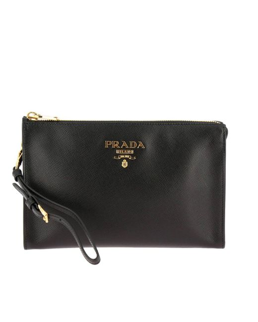 abd79cecc4f5 ... sale prada black mini bag women lyst 10273 358c1