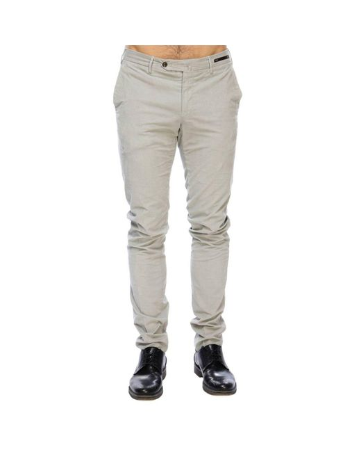 PT01 - Gray Pants Men for Men - Lyst