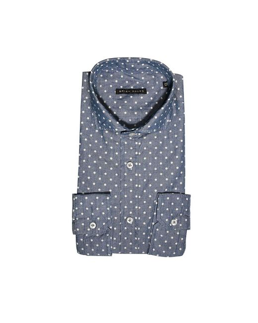 Brian Dales - Blue Men's Shirt for Men - Lyst