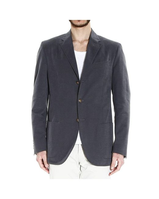 Polo Ralph Lauren   Gray Blazer 3b Drawn Fabric 2 Pockets Gabardine Patchwork for Men   Lyst