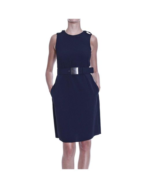 Emporio Armani | Black Giorgio Armani Women's Dress | Lyst