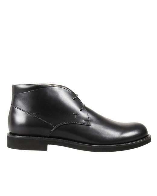 Tod's | Black Ankle Boots for Men | Lyst