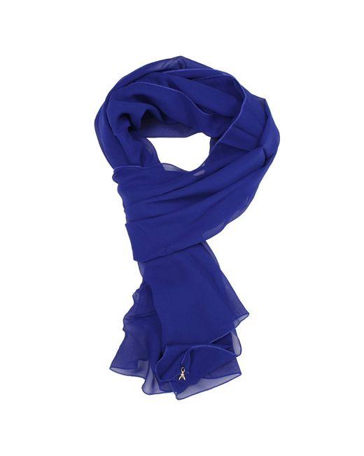 Patrizia pepe Scarf Silk in Blue (Royal blue)