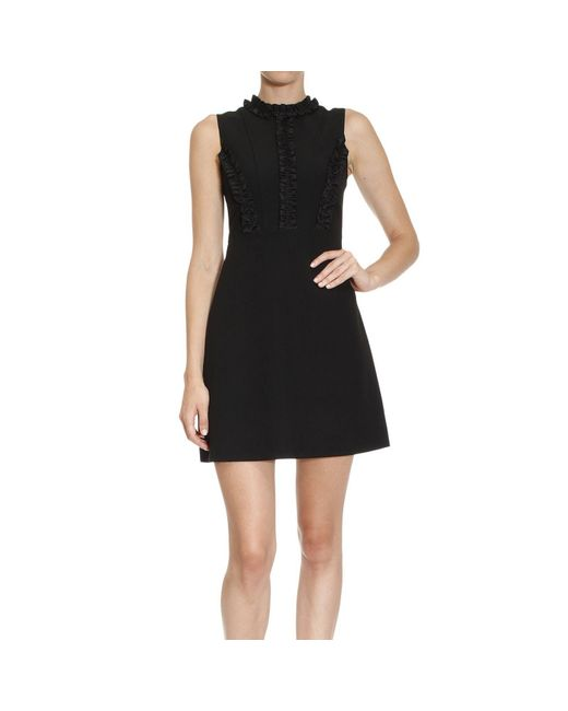 Pinko | Black Knee-length Dress | Lyst