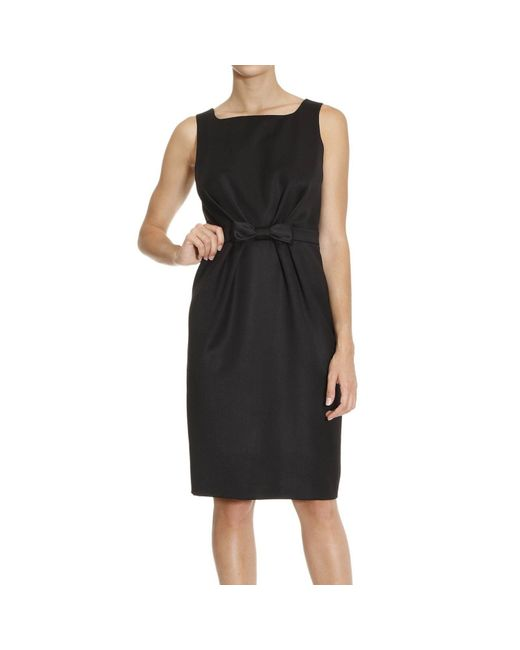 Boutique Moschino | Black Gold Love Necklace Dress | Lyst
