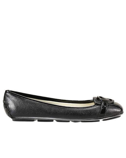 MICHAEL Michael Kors | Black Flat Shoes Shoes Woman | Lyst