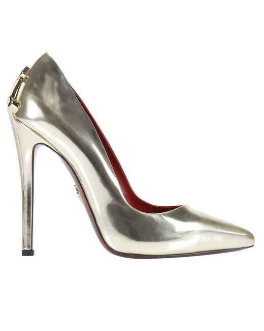 Cesare Paciotti | Metallic Pumps Shoes Women | Lyst