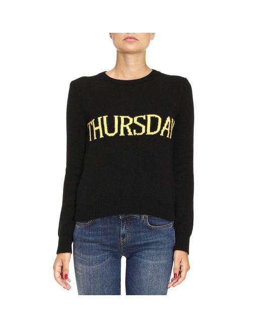 Alberta Ferretti   Black Sweater Women   Lyst