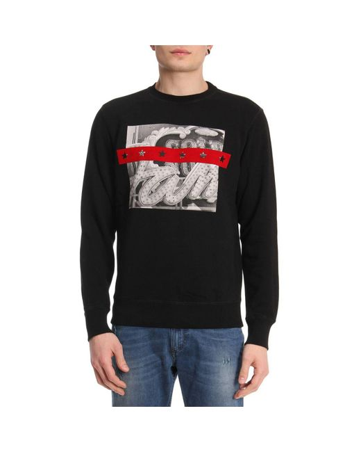 DIESEL - Black Sweater Men for Men - Lyst