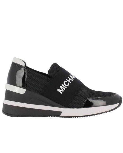 MICHAEL Michael Kors - Black Sneakers Shoes Women - Lyst