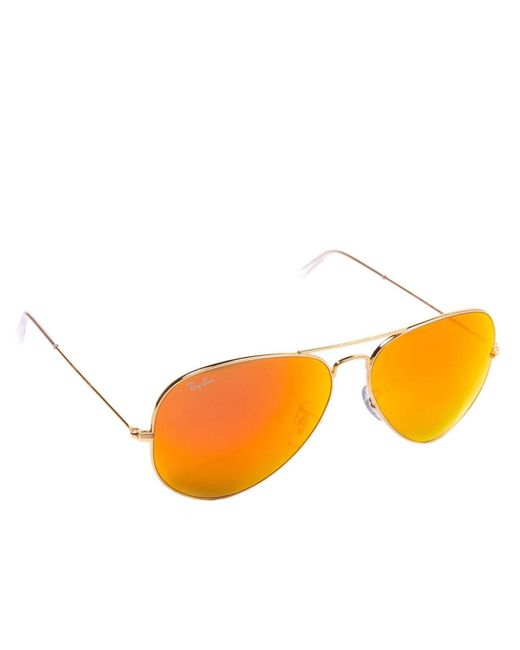 Ray-Ban - Orange Eyewear Men for Men - Lyst