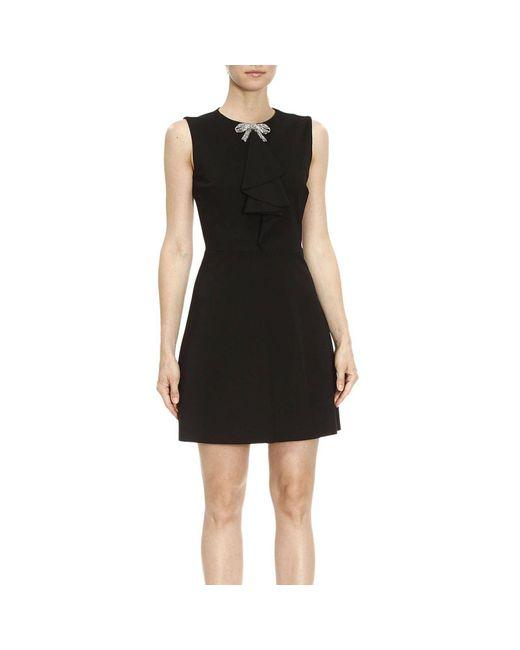 RED Valentino - Black Dress Women - Lyst