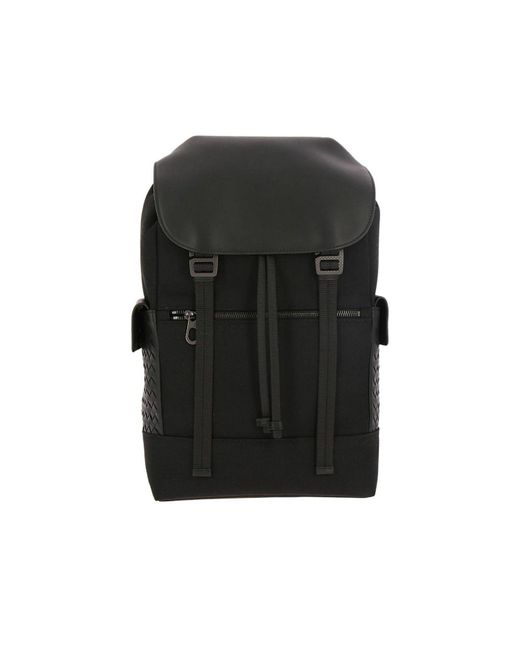 638f062d42 Bottega Veneta - Black Backpack Bags Men for Men - Lyst ...