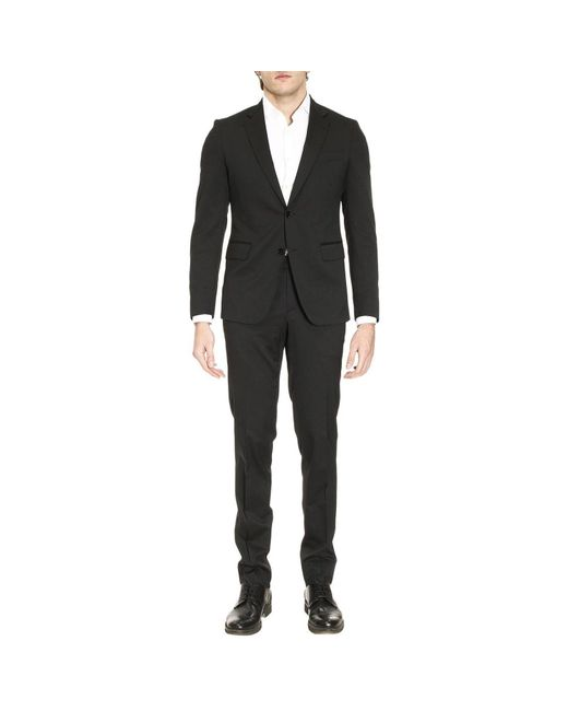 Brian Dales - Black Suit Men for Men - Lyst