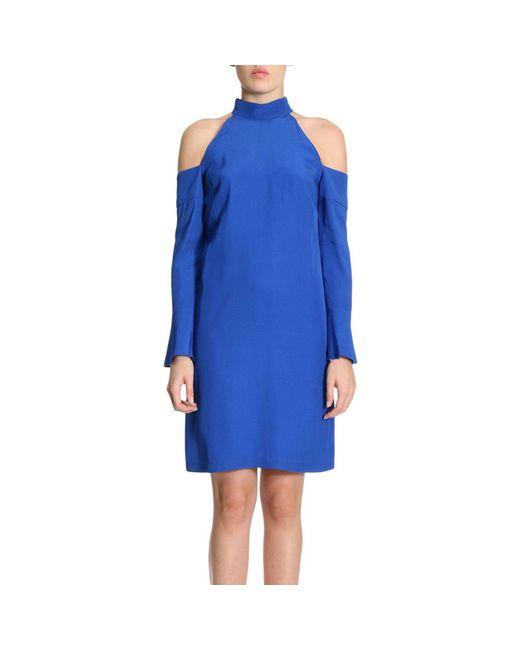 Pinko   Blue Dress Women   Lyst
