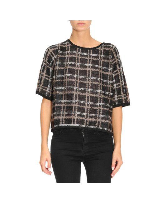Armani Jeans | Black Sweater Women | Lyst
