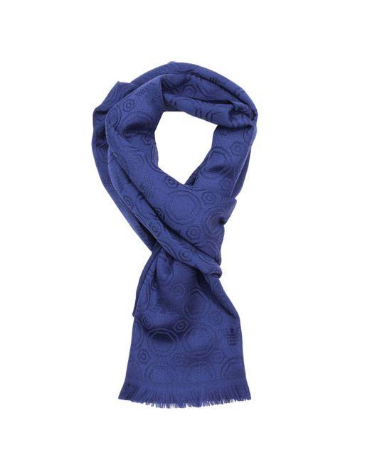 Emporio Armani   Blue Scarf Men for Men   Lyst