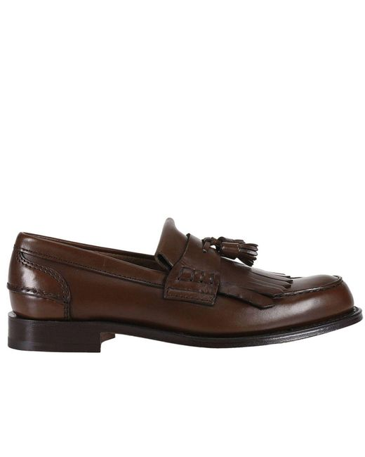 Church's | Brown Loafers Shoes Men for Men | Lyst