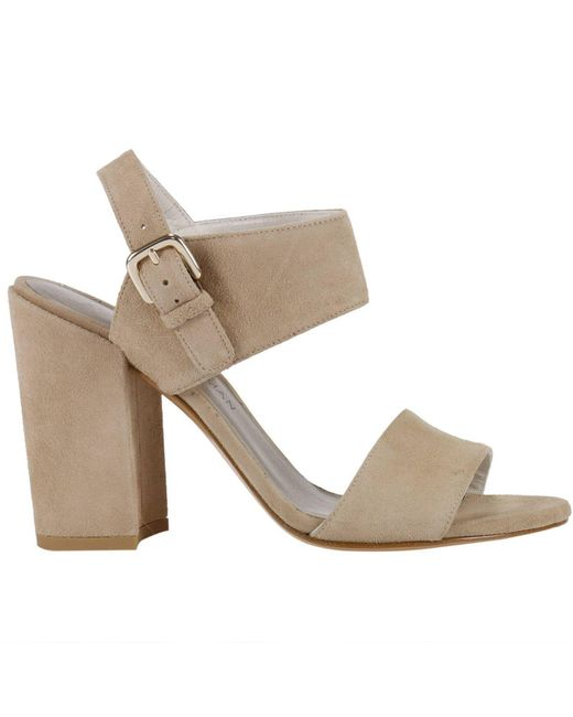 Stuart Weitzman | Natural Heeled Sandals Shoes Women | Lyst