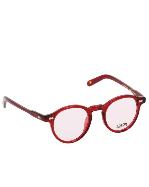 Moscot - White Eyewear Men for Men - Lyst