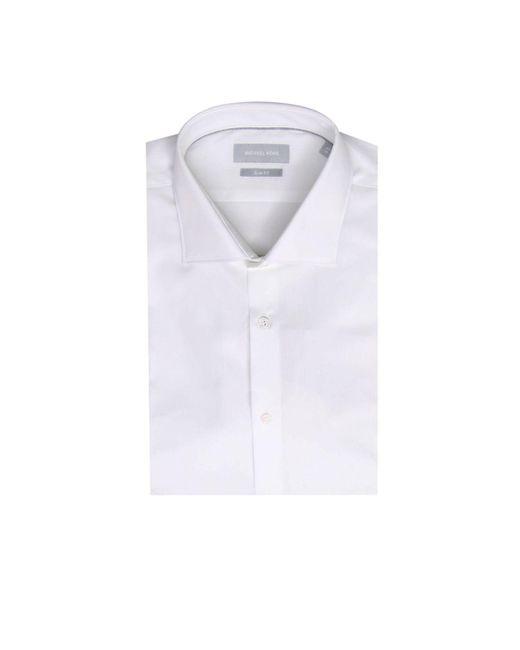 MICHAEL Michael Kors - White Shirt Men for Men - Lyst
