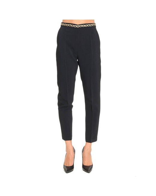Elisabetta Franchi | Black Pants Women | Lyst