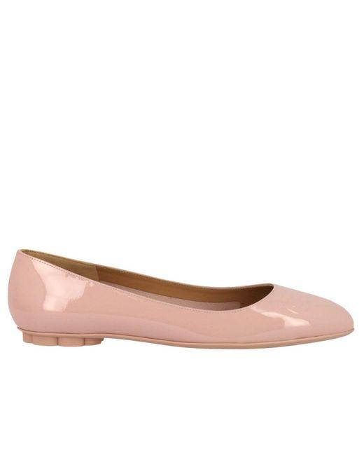 Ferragamo - Pink Shoes Women - Lyst