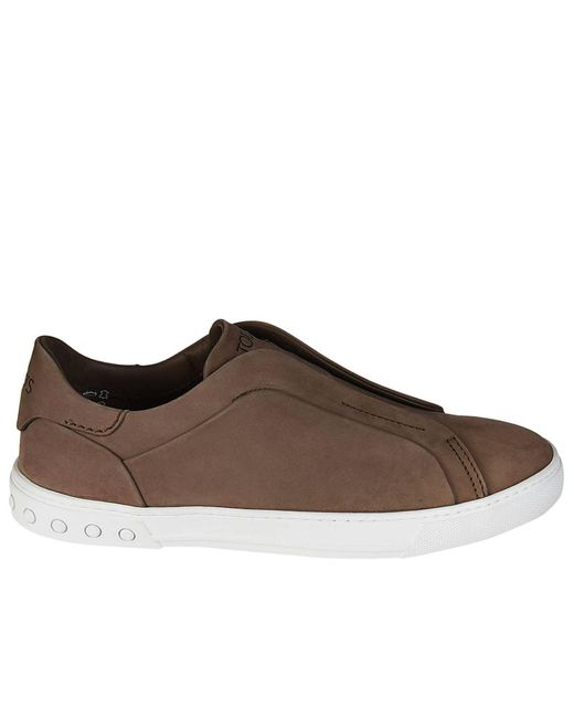 Tod's - Brown Sneakers Women - Lyst