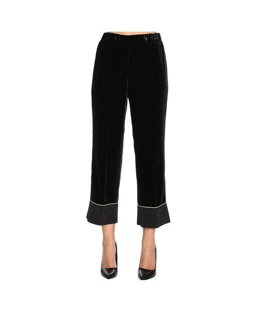 N°21 - Black Pants Women - Lyst