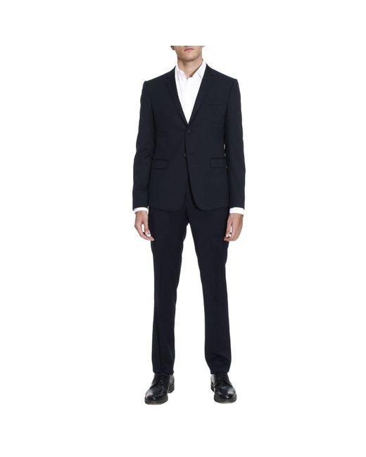 Emporio Armani | Blue Suit Men for Men | Lyst